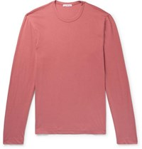 James Perse Cotton Jersey T Shirt Pink