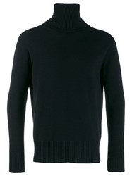 Laneus Roll Neck Jumper Black