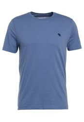 Abercrombie And Fitch Pop Icon Basic Tshirt Blue