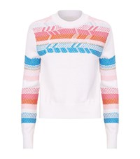 Peter Pilotto Peruvian Knit Jumper Female White