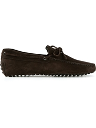 Tod's Tie Loafers Brown