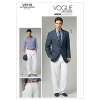 Vogue Men's Jacket And Trousers Sewing Pattern 8719