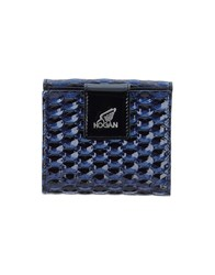 Hogan Wallets Dark Blue