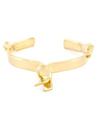 Jennifer Fisher Ribbon Bracelet Metallic