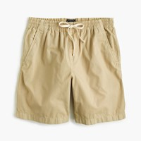 J.Crew Longer Dock Short In Garment Dyed Cotton Archaic Stone