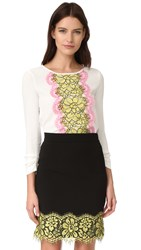 Boutique Moschino Long Sleeve Blouse White