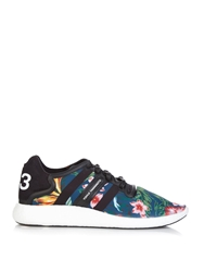 Y 3 Boost Floral Print Nylon Trainers