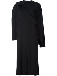 Chalayan Cape Dress Black