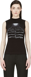 Peter Pilotto Black Graphic Tank Top