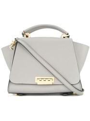 Zac Posen Eartha Iconic Medium Convertible Backpack Bag Grey