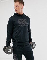 Canterbury Of New Zealand Vapodri Training Hoodie In Triple Black