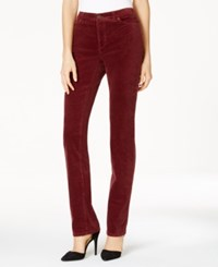 Charter Club Petite Lexington Corduroy Pants Only At Macy's Smoky Claret