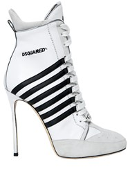 Dsquared 120Mm Julie 251 Leather Boots