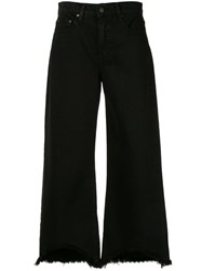 Nobody Denim Skylar Wide Leg Jeans Black