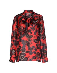 P.A.R.O.S.H. Shirts Blouses Women Red