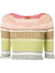 Missoni Knitted Blouse Neutrals