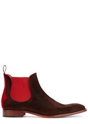 Jeffery West Horrorshow Brown Suede Boots