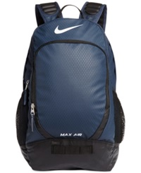 Nike Max Air Team Training Large Backpack Midnight Navy