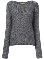 Cruciani Round Neck Jumper Grey
