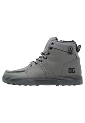 Dc Shoes Woodland Winter Boots Grey