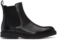 Neil Barrett Black Studded Chelsea Boots