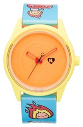 Women's Harajuku Lovers Resin Solar Watch 40Mm Spark The Fire Limited Edition