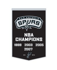 Winning Streak San Antonio Spurs Dynasty Banner Team Color