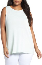 Eileen Fisher Plus Size Women's Sleek Tencel Knit Tank