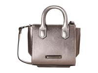 Kendall Kylie Brook Nano Mini Satchel Gunmetal Satchel Handbags Gray
