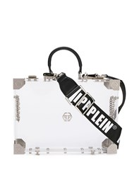 Philipp Plein Original Box Bag White