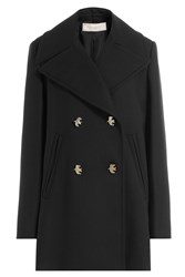 Nina Ricci Coat With Wool Black