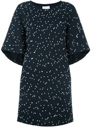 3.1 Phillip Lim Shortsleeved Boucle Dress Blue