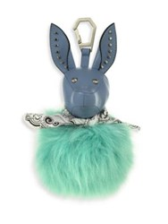 Kendall Kylie Bambi Faux Fur Dog Charm Placid Blue
