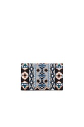 From St Xavier Holly Clutch Metallic Silver
