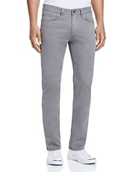 Hugo Boss Straight Fit Soft Twill Jeans In Grey 100 Bloomingdale's Exclusive