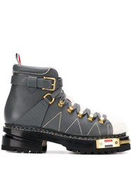 Thom Browne Vitello Hiking Boots 60