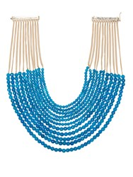Rosantica By Michela Panero Raissa Beaded Necklace Blue