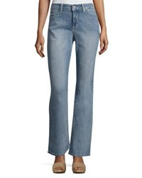 Nydj Barbara Boot Cut Faded Jeans Blue