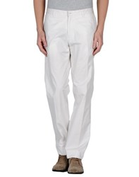 Reporter Trousers Casual Trousers Men White