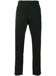 Ymc Perforated Chino Trousers Black