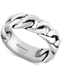 Effy Men's Chain Link Ring In Sterling Silver