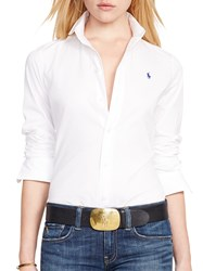 Ralph Lauren Polo Kendall Fitted Shirt White