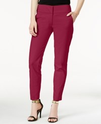 Xoxo Juniors' Ankle Length Trousers Cranberry