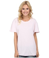 Volcom Lived In O D Tee Barely Pink Women's T Shirt