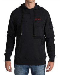 Prps Hoodie With Patch Detail Black