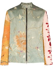 By Walid Dragon Embroidered Jacket 60