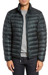 Tumi Men's 'Pax' Packable Quilted Jacket Hunter