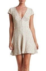 Dress The Population Women's Georgina Sequin Fit And Flare