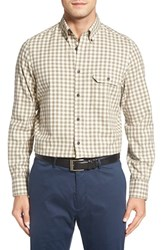 Nordstrom Men's Big And Tall Men's Shop Gingham Flannel Shirt