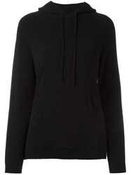 Chinti And Parker Stripe Track Hoodie Black